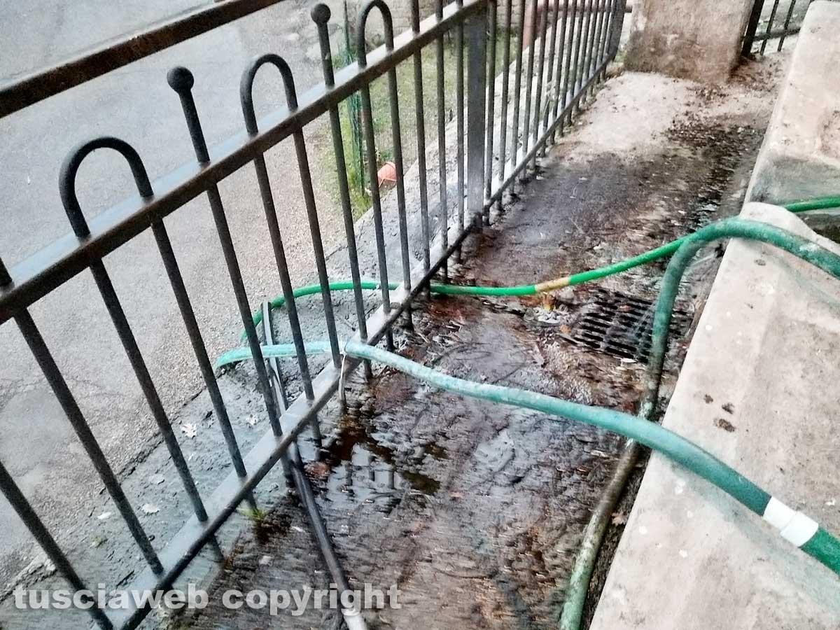 Fontane storiche senz'acqua e fontanili che perdono