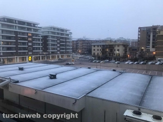 Nevica a Viterbo