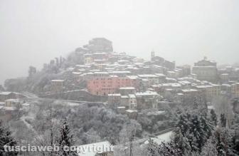 Maltempo - Soriano sotto la neve
