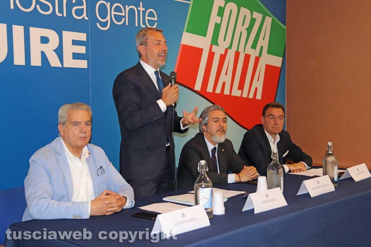 Viterbo - il congresso provinciale Forza Italia - Raffaele Nevi