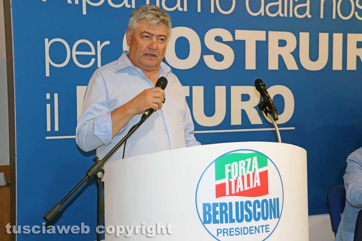 Umberto Fusco al congresso Forza Italia