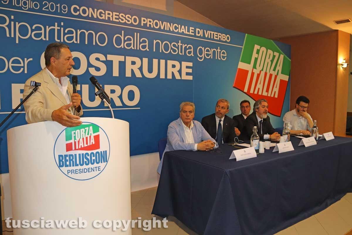 Viterbo - Congresso provinciale Forza Italia - Giulio Marini