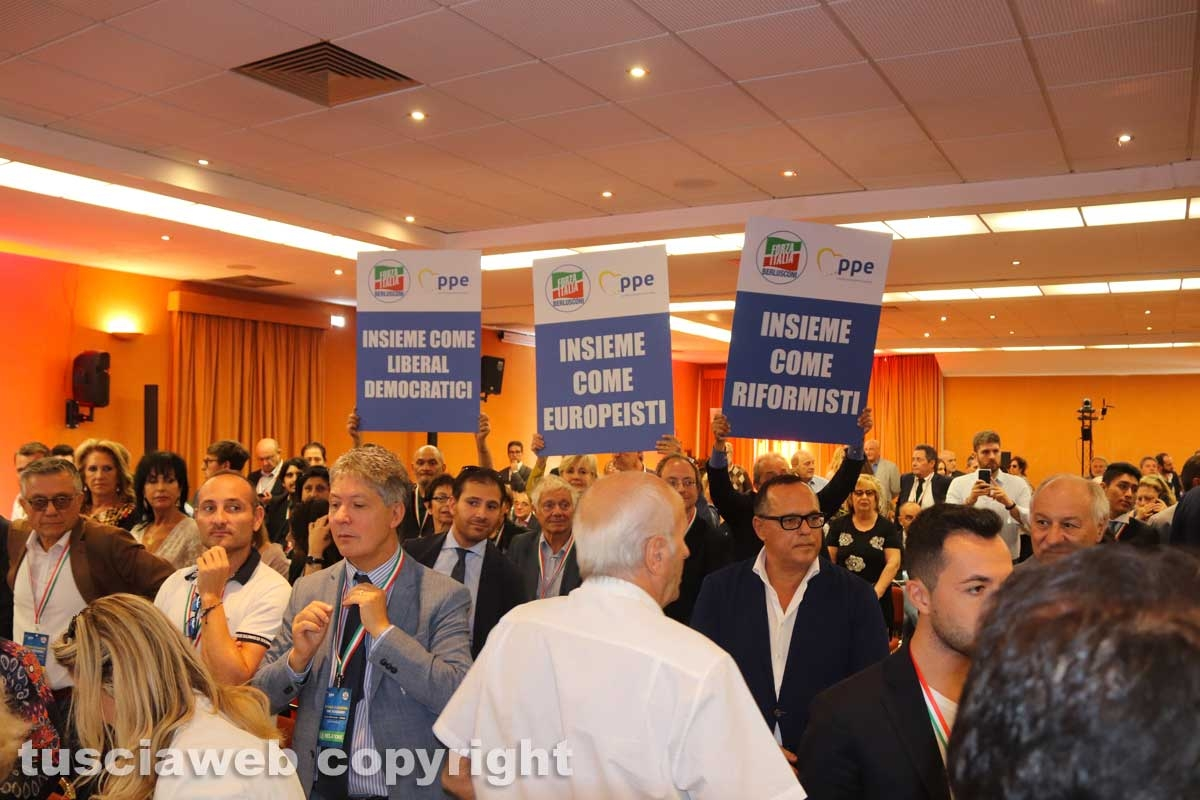 Forza Italia - La convention a Viterbo