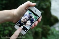 Selfie dalla cascata delle Marmore - Daniele Battella