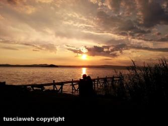 Tramonto sul lago di Bolsena - Alessandro Rosignoli