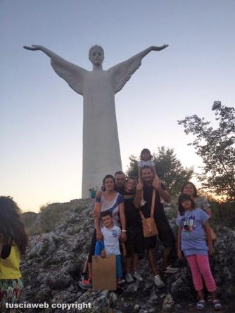 Cristo Redentore - Maratea - Famiglie Moggi e Lucernoni