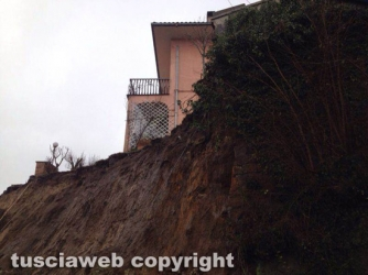 Caprarola - Frana in via Tossini