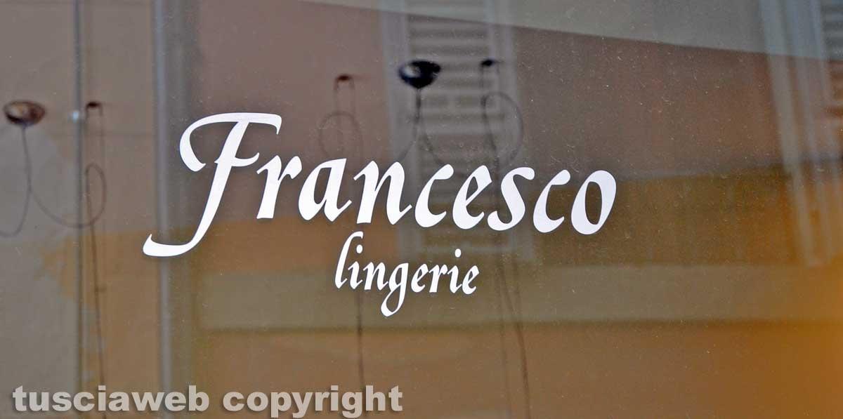 Viterbo - Francesco Lingerie