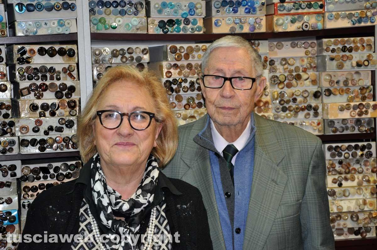 Francesco Lingerie - Francesco Ceccarelli con la moglie Liliana