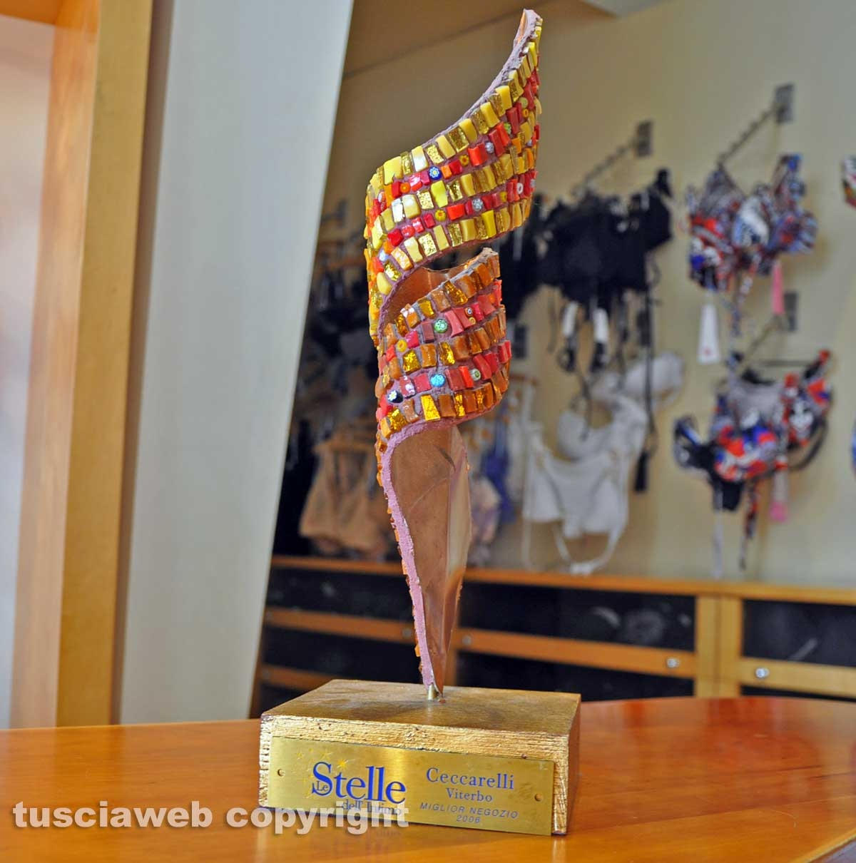Francesco Lingerie - Premio miglior negozio d'Italia - Milano 2006