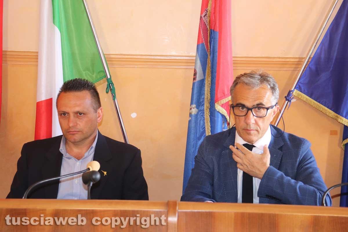 Civita Castellana - Consiglio comunale - Turchetti e Caprioli