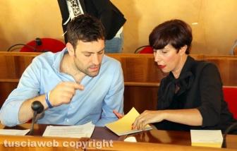 Andrea Sebastiani e Simonetta Colella