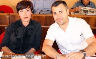 Luca Giampieri e Simonetta Colella (FdI)