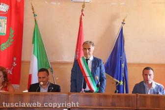Civita Castellana - Il sindaco Caprioli giura