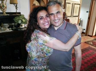 Civita Castellana - Franco Caprioli sindaco con la moglie
