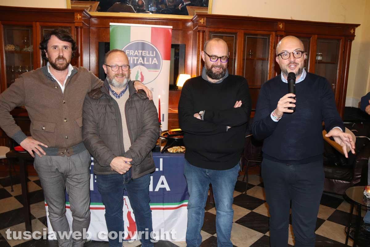 Fratelli d'Italia brinda