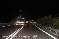 Viterbo - Frontale sullo svincolo della Superstrada