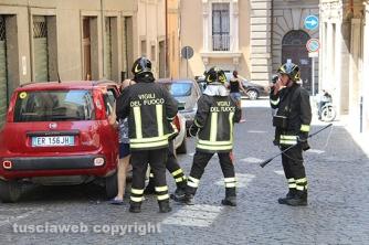 Boato a Porta Romana - Fuga di gas da una macchina