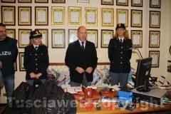 La conferenza stampa per illustrare i dettagli dell\'indagine