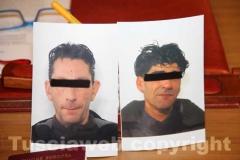Le immagini degli arrestati