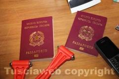 I passaporti rubati