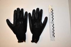 I guanti trovati nello zaino