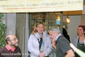 George Clooney a Viterbo