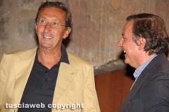 Gianfranco Fini e Claudio Taglia