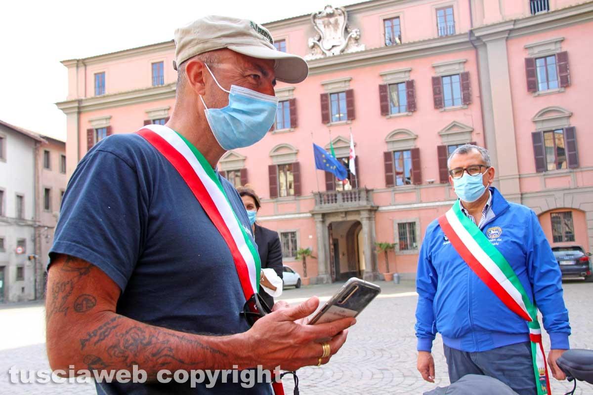 Gianluca Bacchetta nella città dei papi