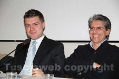Alessandro Romoli e Maurizio Tofani