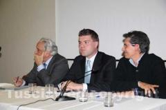 Rodolfo Gigli, Alessandro Romoli e Maurizio Tofani