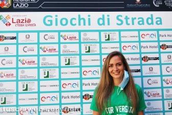 """Alessia Ciocari, project manager del progetto """"Giochi di strada"""""""