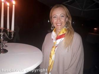 Giorgia Meloni al trasporto