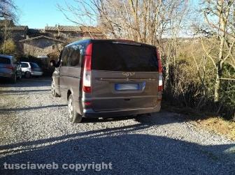 Ragazza trovata morta a Montefiascone - Il carro funebre