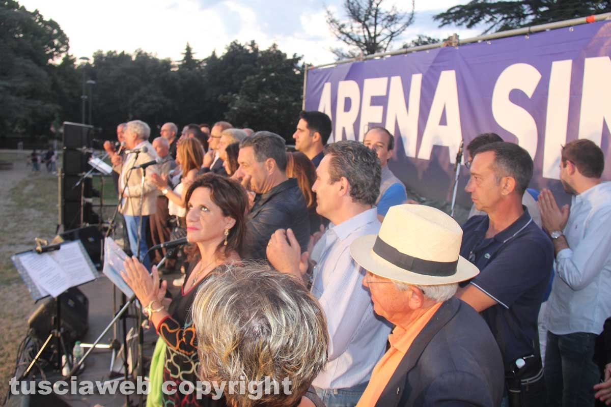 Giovanni Arena, gran finale a Pratogiardino