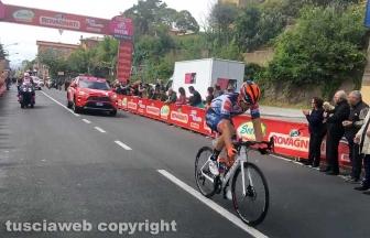 Giro d'Italia - Mirco Maestri vince il traguardo volante a Vetralla