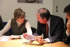 Giulia Bongiorno e Claudio Taglia