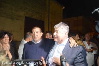 Tarquinia - Alessandro Giulivi sindaco - I festeggiamenti con Umberto Fusco