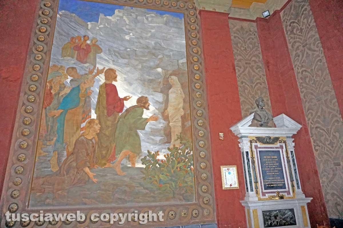 Gli affreschi della chiesa di San Lazzaro