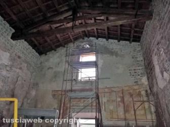 Gli affreschi di Foro Cassio