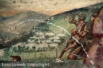 Gli affreschi di Santa Maria delle Fortezze