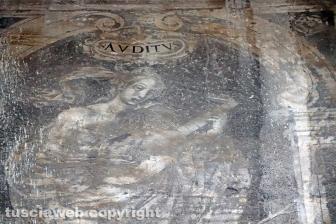 Gli affreschi distrutti in via Annio e via Saffi