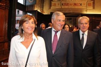 Renata Polverini, Antonio Tajani e Giovanni Arena