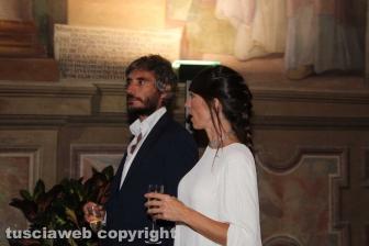 Federico Palmaroli (alias Osho) con Gea Vincenzini