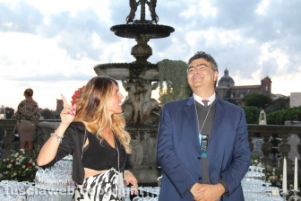 L'assessora Troncarelli con Emanuele Fiano