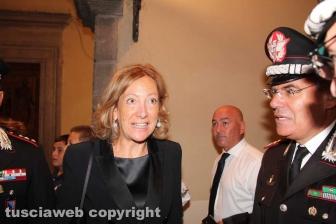 Il ministro Elisabetta Trenta con il generale Giovanni Nistri