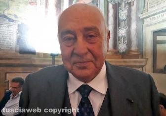 L'ex sindaco Silvio Ascenzi