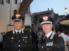Il comandante provinciale dei carabinieri Gianluca Dell\'Agnello