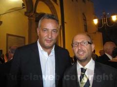 Claudio Brachino e il consigliere comunale Chicco Moltoni