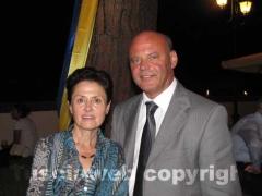 Luigi Zucchi e la moglie